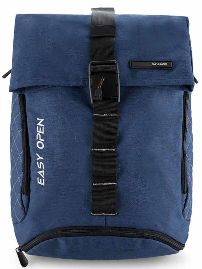 Simplecarry Easy Open Navy - balo laptop 11 inch