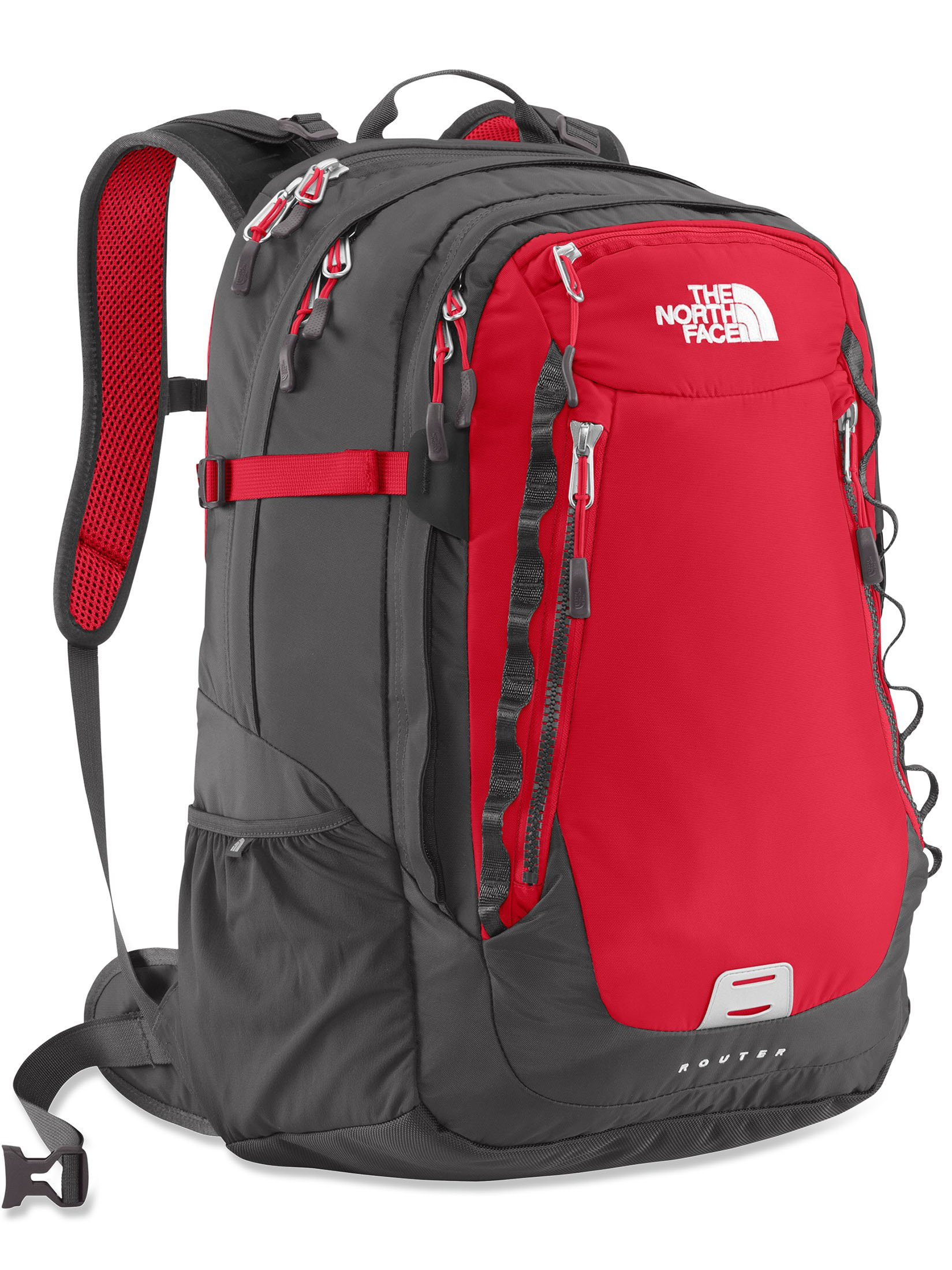 The North Face Router Red - Balo laptop - Shop Balo Hàng Hiệu