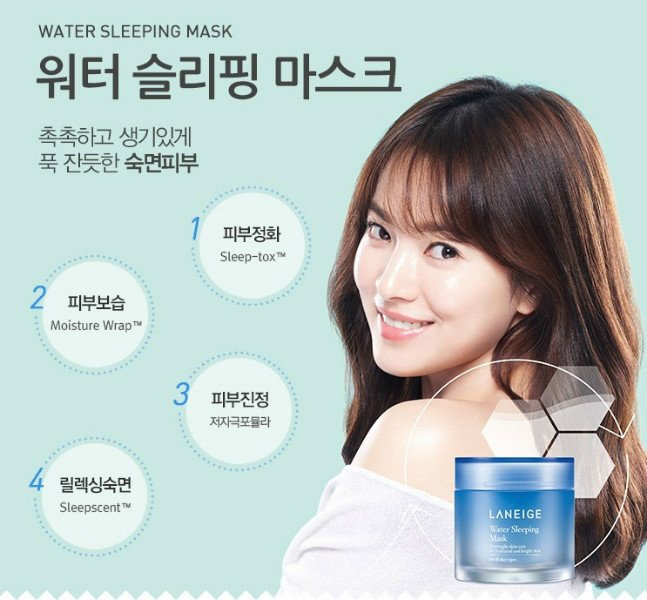 Mặt Nạ Ngủ Laneige Water Sleeping Pack EX