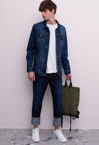Quần Jeans Nam - Pull & Bear REGULAR FIT