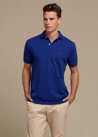 Polo nam TOMMY HILFIGER blue