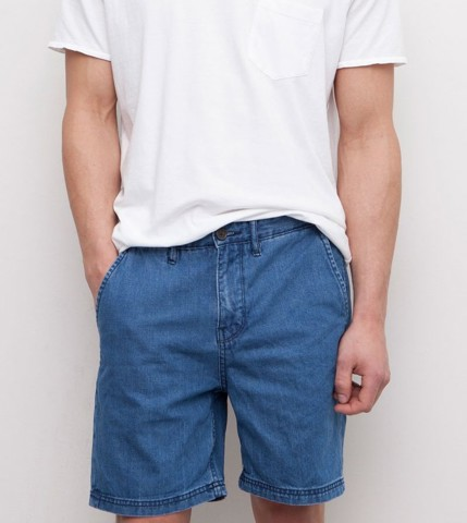 Quần short nam - Pull&bear - denim