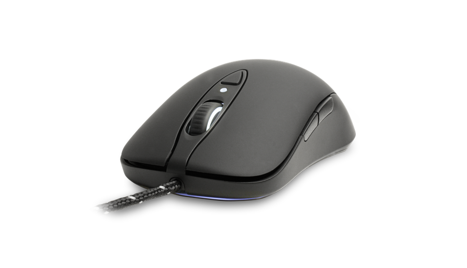 Chuột SteelSeries Sensei RAW Ruberized Black (62155)