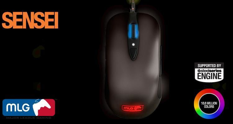 Mouse SteelSeries Sensei Major League Gaming Edition (62153)