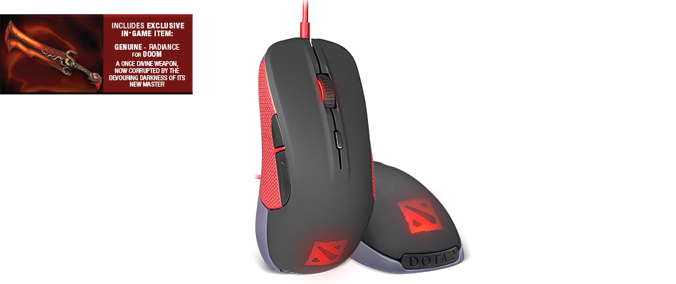 Mouse SteelSeries Rival Dota2 Edition Global (62273)