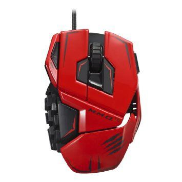 Mouse Madcatz M.M.O TE Red