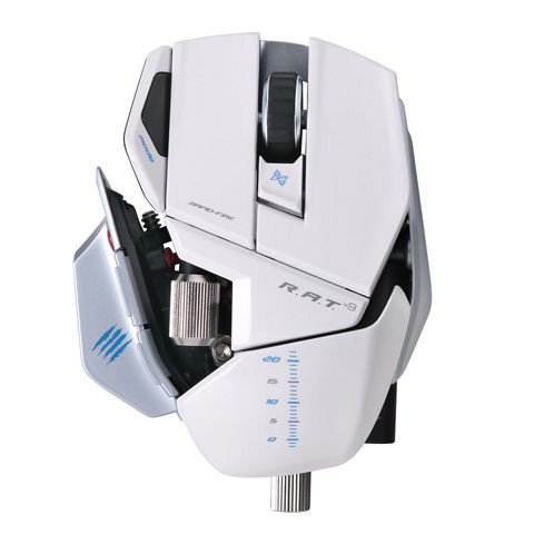 Mouse Madcatz R.A.T 9 Wireless White