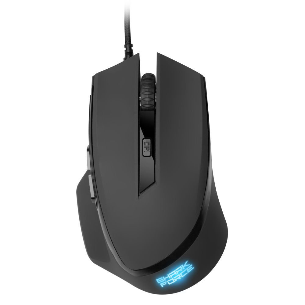 Mouse Sharkoon Shark Force Black Gaming
