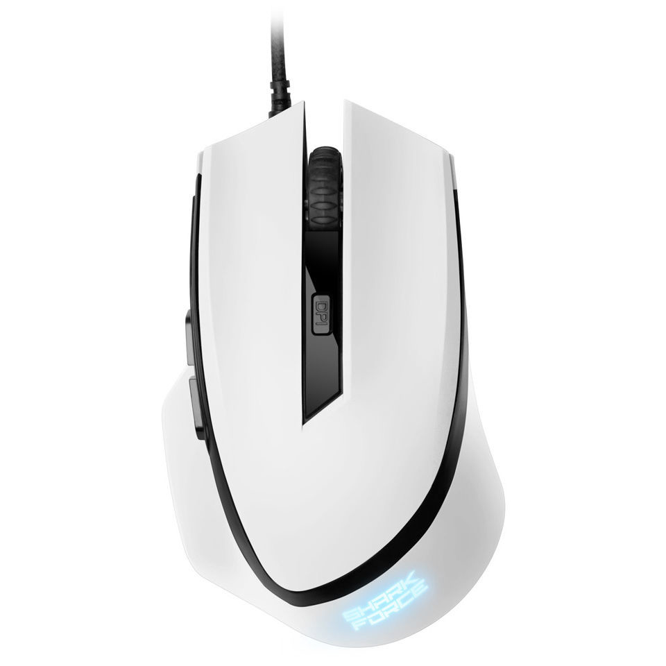 Mouse Sharkoon Shark Force White Gaming