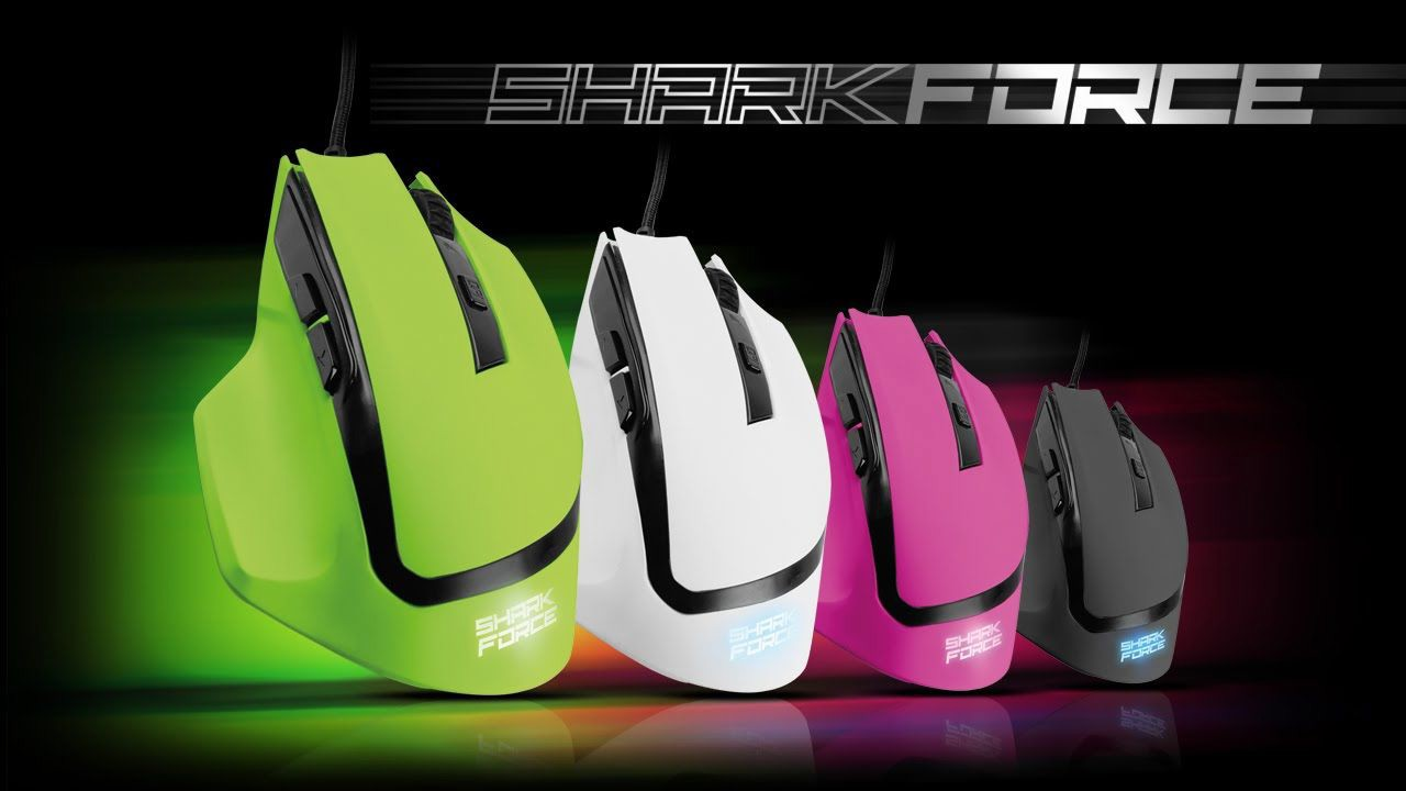 Mouse Sharkoon Shark Force Pink Gaming