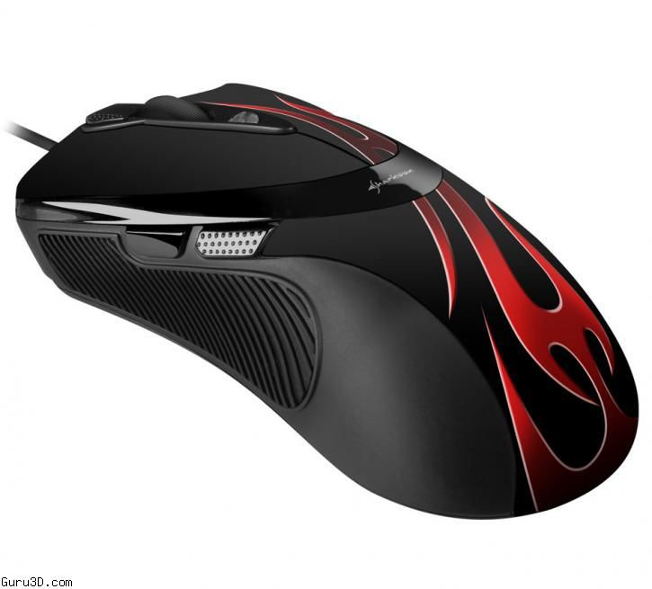 Mouse Sharkoon FireGlider Optical