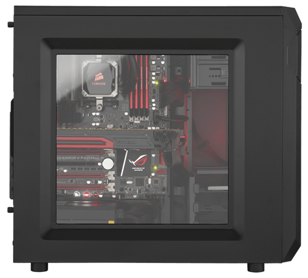 Carbide Dòng ® SPEC-01 Red LED Mid - Tower Gaming