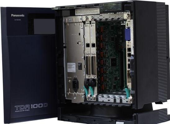 Hệ thống tổng đài IP Panasonic KX - TDA100D  (8 - 80)