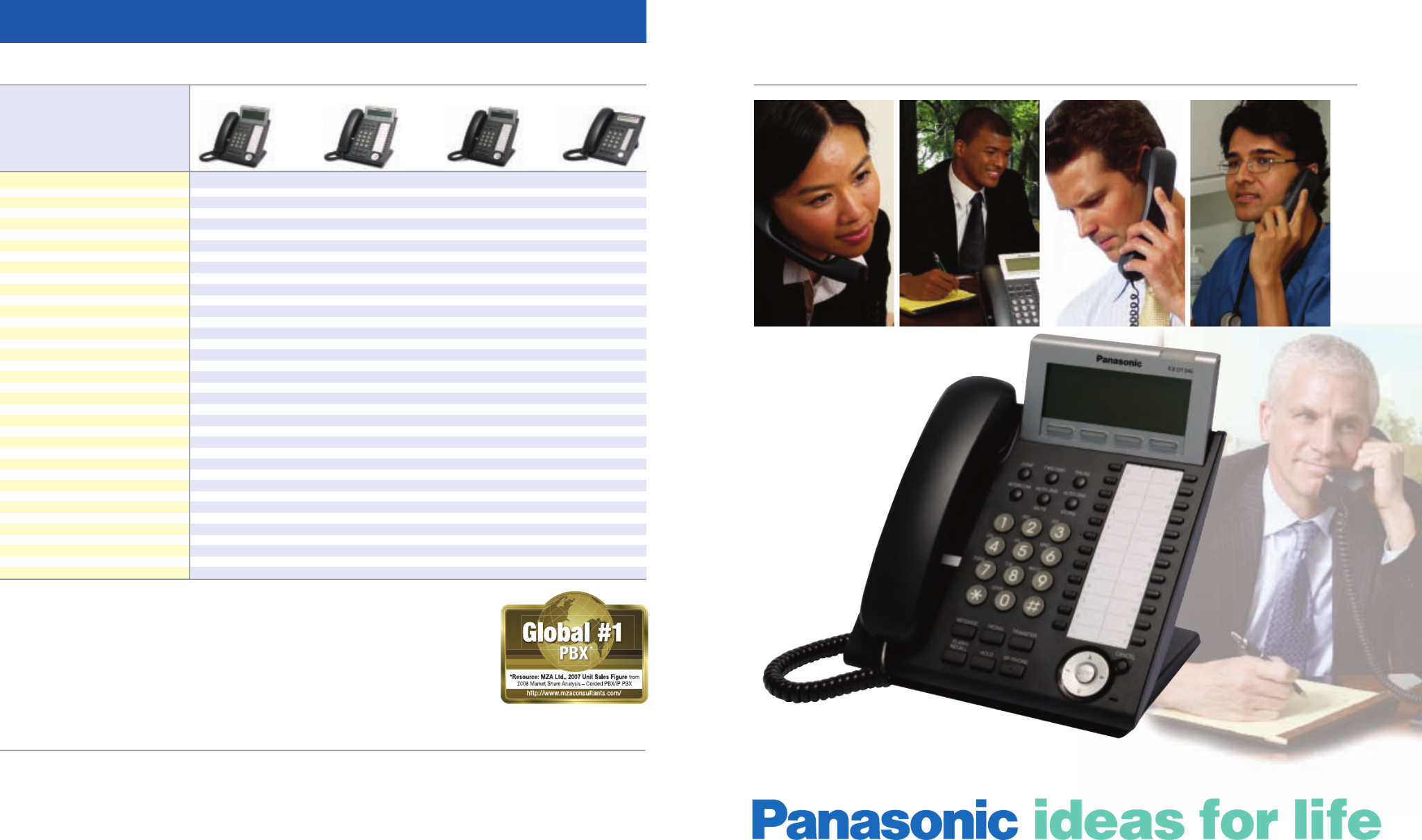 Panasonic KX - DT321 - B Digital Phone Black