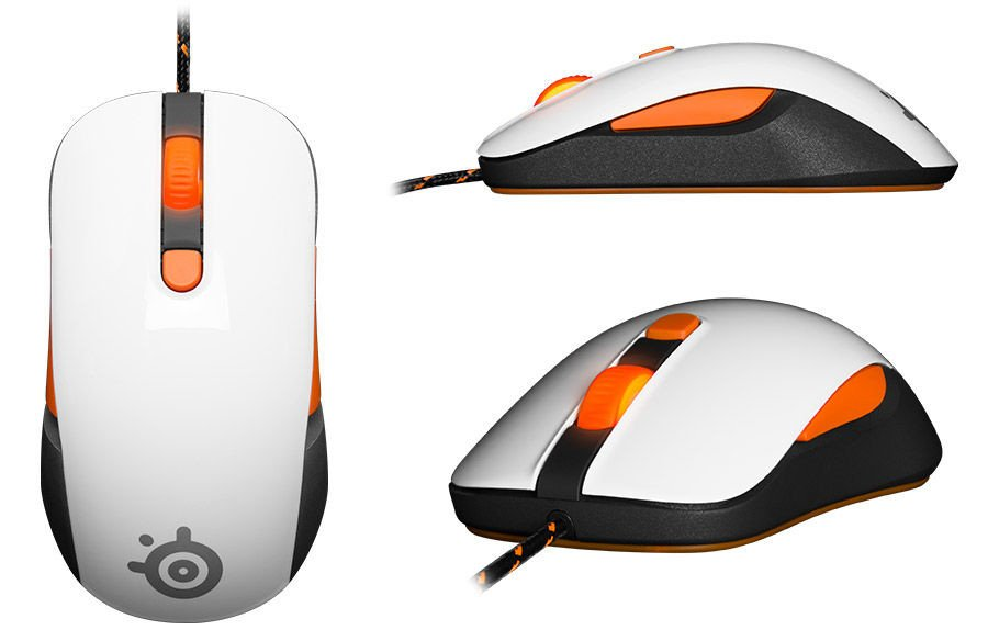 Mouse SteelSeries Kana V2 White (62262)