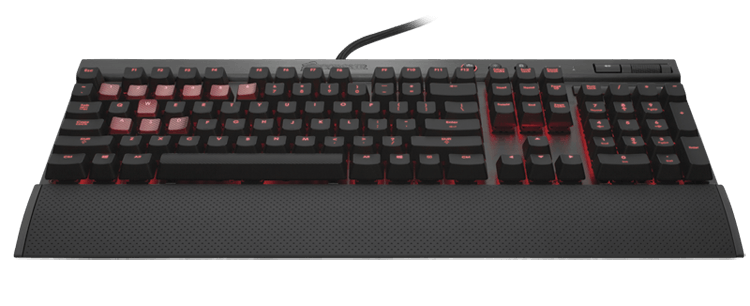 Keyboard Corsair Vengeance® K70 Fully Mechanical Gaming Keyboard - Cherry MX Red