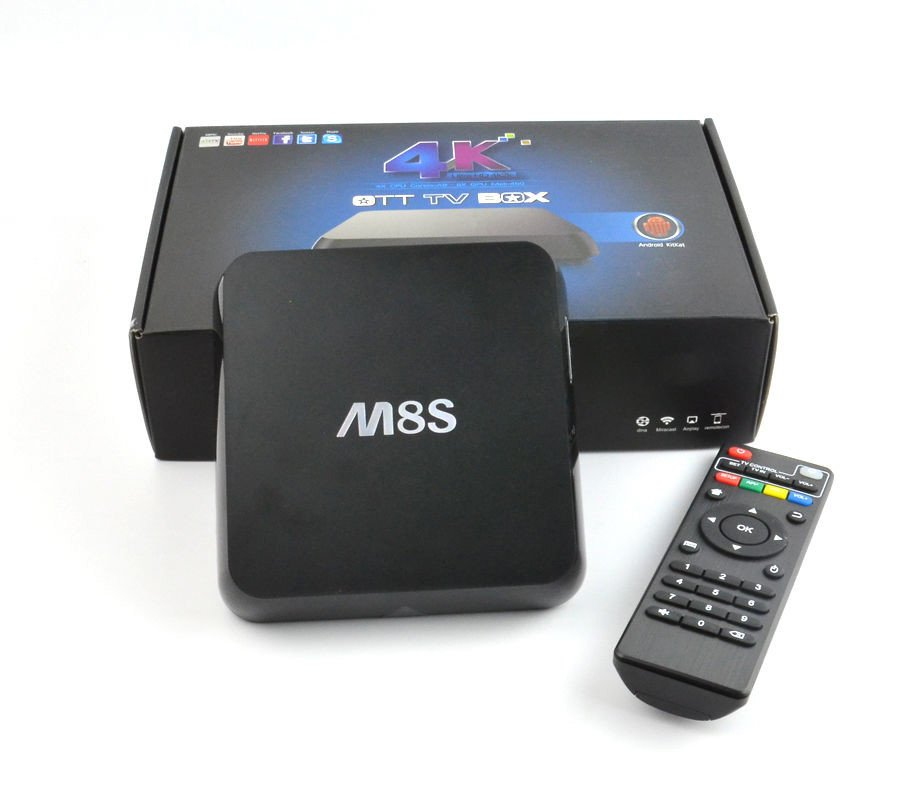 TV Box M8S - Thiết bị Android