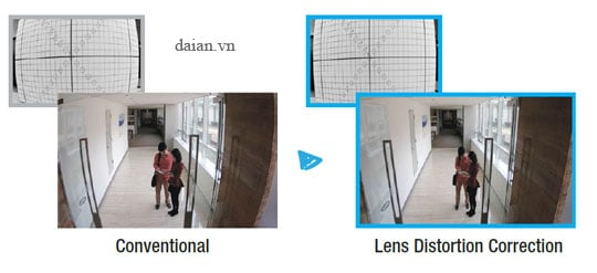 LDC support (Lens Distortion Correction)