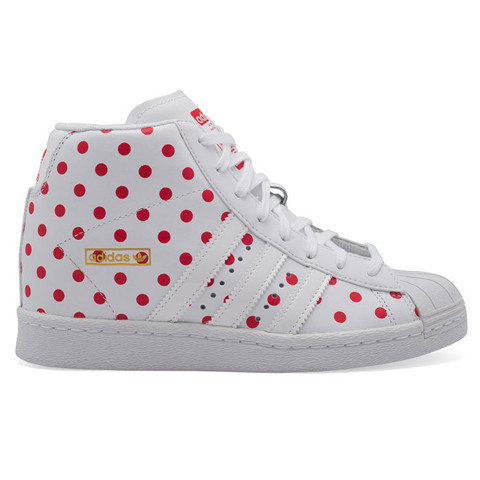 Giaythethaonam.vn - S81378 - Giày Adidas Nữ Originals Superstar Up w White Red