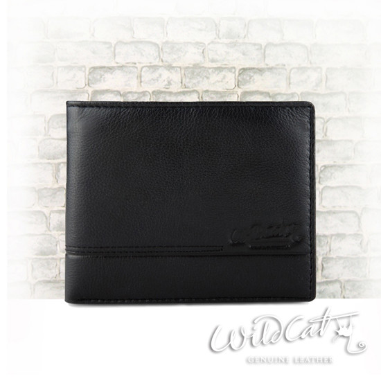 30222013 - MARCH CROSS THREAD COW LEATHER WALLET