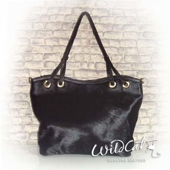 10102011 - COW HAIR TOUJOURS SHOPPING BAG