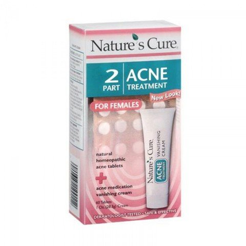 <p>Nature's Cure 2-Part Acne Treatment for Females (face) - Bộ hỗ trợ trị mụn nội tiết cho Nữ