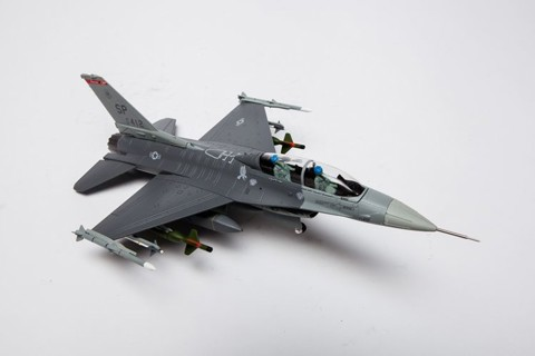 Lockheed Martin F-16D Fighting Falcon, US Air Force, 1:72 Diecast, Air Force 1