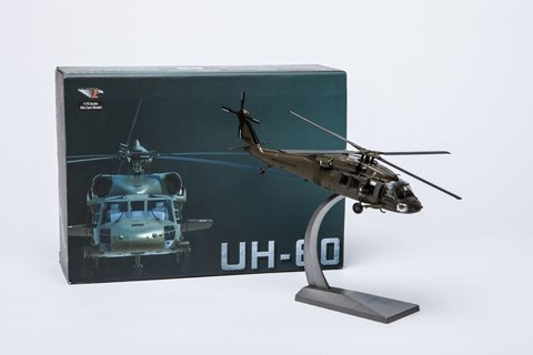 Sikorsky UH-60 Black Hawk, US Army, 1:72 Diecast, Air Force 1