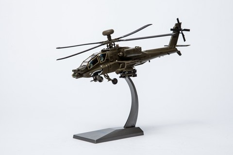 Boeing AH-64D Apache, 3rd infantry Division Shouthern Iraq 2003, 1:72 Diecast, Air Force 1