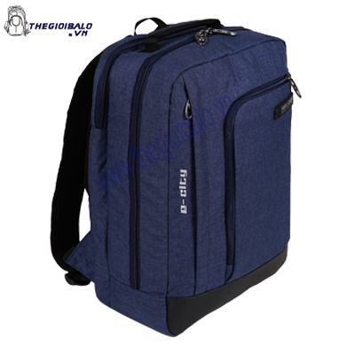Balo Laptop Simplecarry E-City Navy