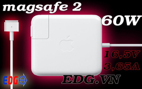 Sạc Macbook 60w magsafe 2