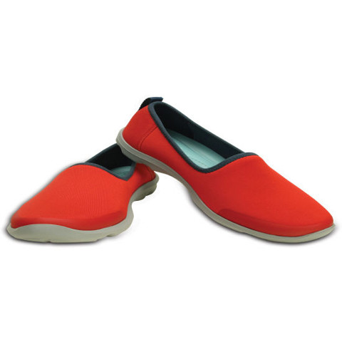 Crocs - Busy Day Stretch Skimmer Flame Nữ