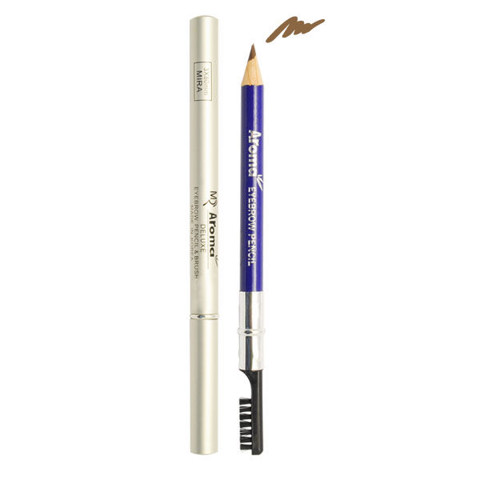 Chì Kẻ Mày Mira Aroma Eye Brow Pencil & Brush