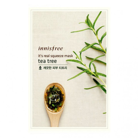 Mặt Nạ Innisfree Its Real Squeeze Mask Tea Tree