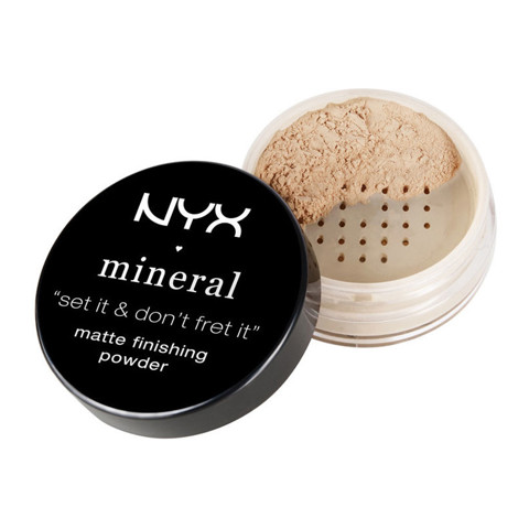 Phấn phủ NYX Mineral Matte Finishing Powder Light/Medium