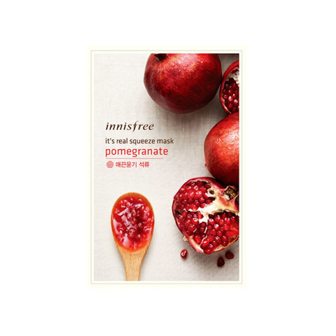 Mặt Nạ Innisfree Its Real Squeeze Mask Pomegranate