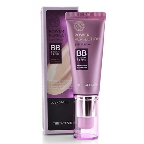 Kem nền The Face Shop BB Cream Power Perfection SPF37 PA++ 20g