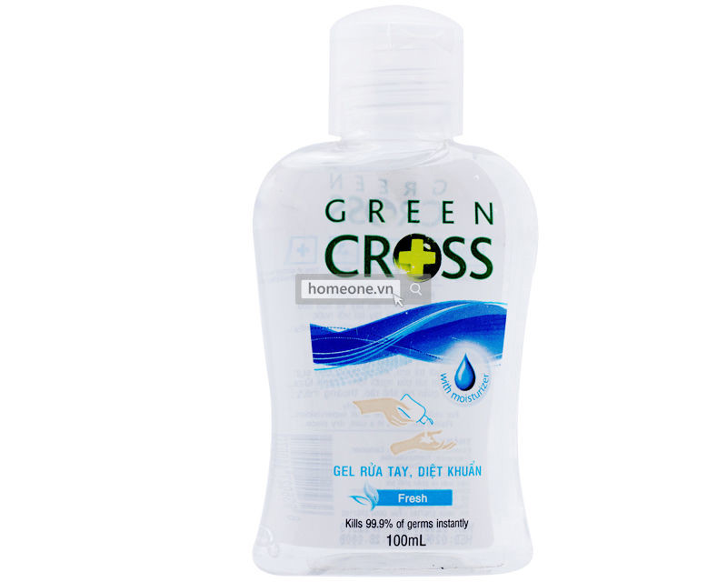 GREEN CROSS GEL RT TUOI MAT -FRESH 100ML