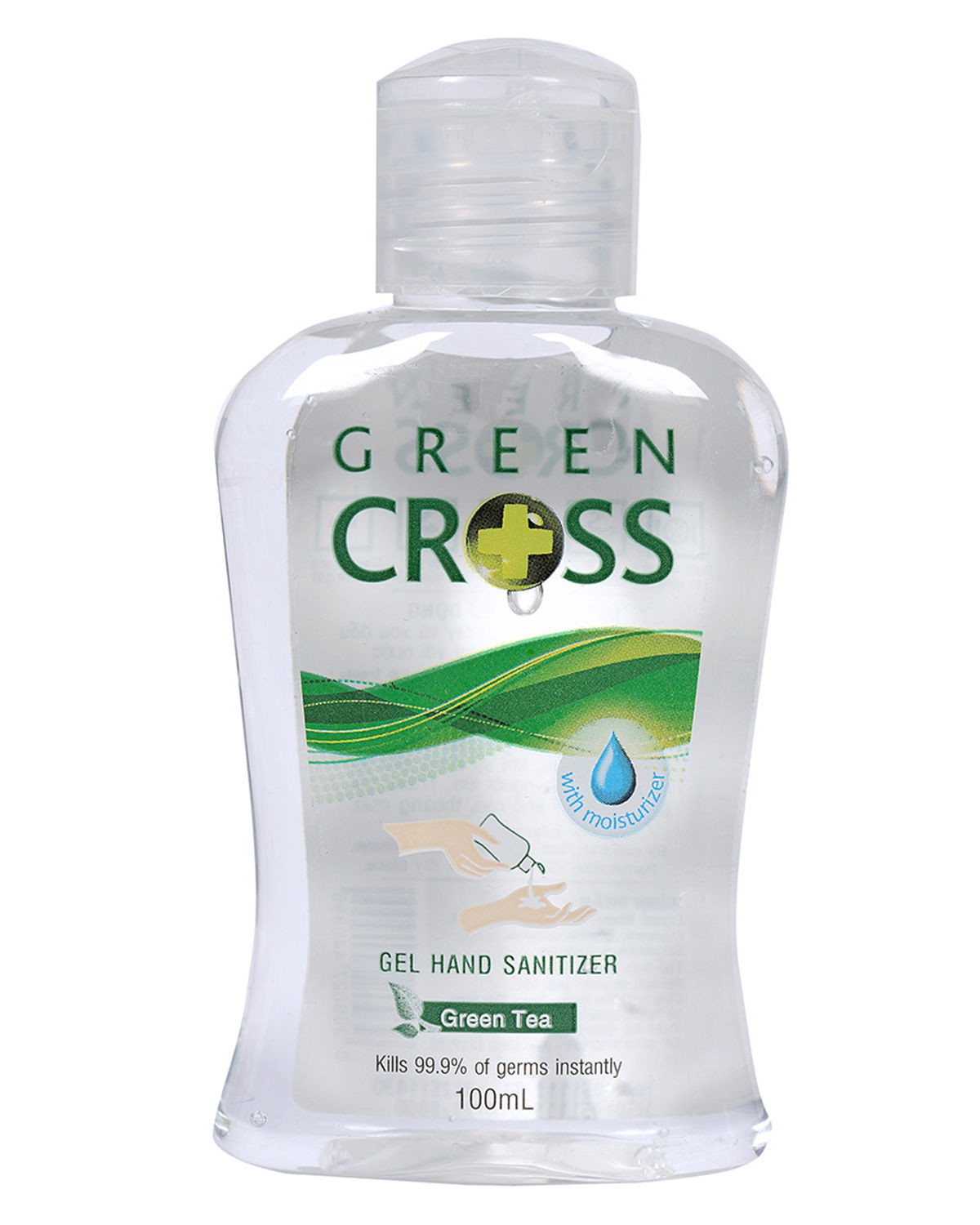 GREEN CROSS GEL RT TRA XANH -GREEN TEA 100ML