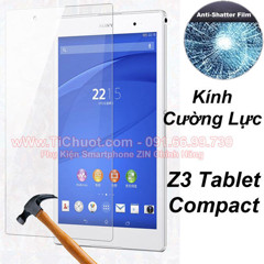 Kính CL MTB SONY Z3 Tablet Compact (9H-0.26mm)