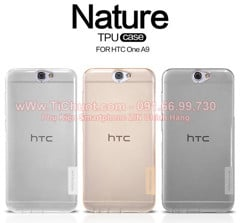 Ốp lưng HTC One A9 Nillkin Dẻo trong suốt