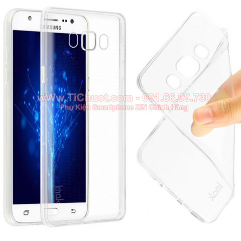 Ốp lưng Galaxy J5 2016 Silicon dẻo trong suốt