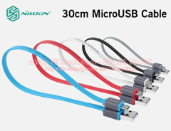 Cáp Nillkin Mini Cable 30cm MicroUSB Andoird & Windows Phone