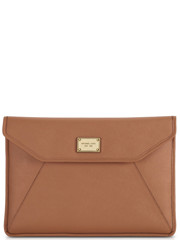 Michael Kors 13 Slim Saffiano Sleeve Brown