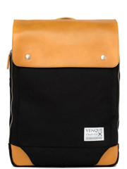 Venque Flatsquare Backpack Mini (M) Black