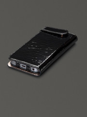 Sena Hampton Wallet iphone 5/5s Black Patent Pebble