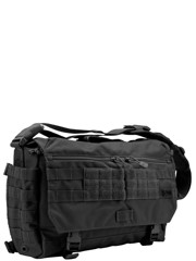 5.11 Tactical Rush Delivery Messenger Bag (M) Black
