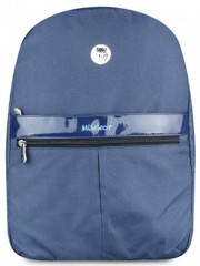 Mikkor Editor Backpack (M) Navy