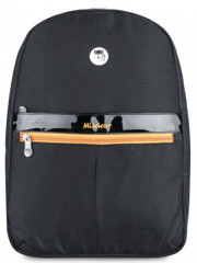 Mikkor Editor Backpack (M) Black