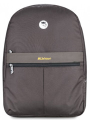 Mikkor Editor Backpack (M) Brown
